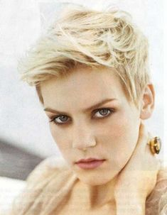 New short hairstyle