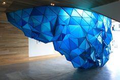 Paper Iceberg Installation – Fubiz™