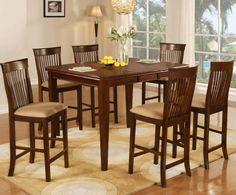 8933 7 Piece Pub Table