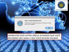 PASSO 6 - verificação na sua CAIXA de E-mail.