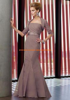 Sexy Abendkleider aus Satin mit Bolero im Meerjungfrauenstil online 2013