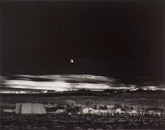 Moonrise, Hernandez, New Mexico<br />   Ansel Adams                      1941