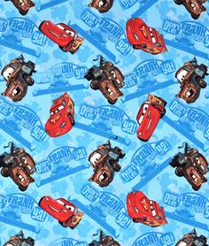 Springs-Creative Disney Cars Don't Let Frank Catch Ya Fabric