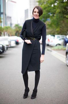 Mannish & black equals very stylish