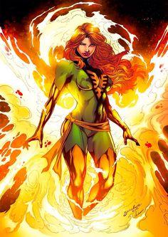 Jean Gray aka Dark Phoenix of the X-Men - Marvel Comics