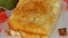 Fast-and-Fabulous Egg and Cottage Cheese Casserole Recipe Green chile peppers lend a flavor boost to this version of an egg breakfast casserole, also featuring cottage and Monterey Jack cheeses. Cottage Cheese Eggs, Cottage Cheese Recipes, Cottage Cheese Nutrition, Low Carb Breakfast, Breakfast Dishes, Breakfast Recipes, Breakfast Ideas, Brunch Ideas, Breakfast Time