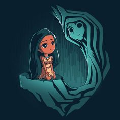 Pocahontas and Grandmother Willow T-Shirt | Official Disney Tee – TeeTurtle