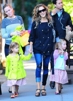 Sarah Jessica Parker Has a Whole New Way to Wear Her Skinny Jeans