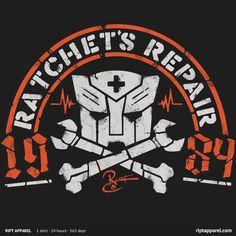 Ratchet's Repair.  :)  I love Autobots.