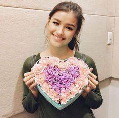 Good morning my loves baby Liza Filipina Actress, Filipina Beauty, Lisa Soberano, Attractive People, Celebs, Celebrities, Pretty Face, Girl Crushes, Pretty Woman