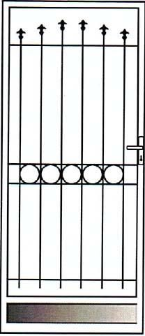 Front Door Shutters To Secure Patio Or Sliding Doors For