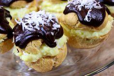 Coconut Cream Puffs - Kudos Kitchen by Renee