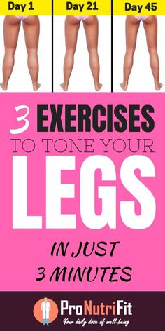 3 Exercises to Tone Your Legs in Just 3 Minutes a Day. In this article, we will delve into this short training routine and provide some tips so that the legs do not get too tired and bloated on a daily basis. The short workout routine created by Tracy A Fitness Workouts, Short Workouts, Toned Legs Workout, Thin Legs Workout, Leg Workout At Home, Excersise For Legs, Slimmer Legs Workout, Toning Legs, Lazy Girl Workout