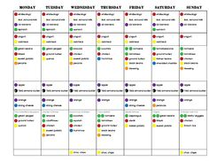 Round 2, Week 3 - 21 Day Fix Challenge Pack, 21 Day Fix, Portion Control, Clean Eating, Eat Clean, Healthy recipes, Breakfast, lunch, dinner, 21 day fix meal plan, meal planning, meal prep