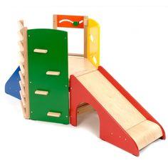 Childrens wooden climbing frame, edusentials.
