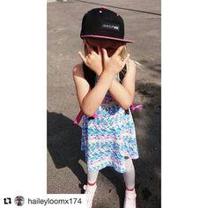 This mx girl rocks! Happy Friday! -> #Repost @haileyloomx174 Vill ha sommar  #mxgirl#dwbtoftshit#snapback#summer#coolkid