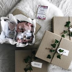 BRIDESMAID BOXES // This is such a kind and thoughtful idea, that I wish I had of done with my own special ladies! Claire ordered a set of… Bridesmaid Proposal Box, Bridesmaid Boxes, I Wish I Had, Claire, Halo, Gift Wrapping, Thoughts, Paper, Instagram