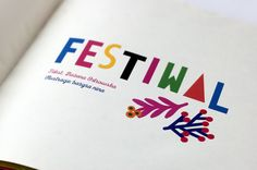 Festival - an illustrated children book. Project was supported by a grant from Torun City Council / photo by   Zuzanna Larysz