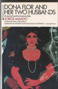 Dona Flor and Her Two Husbands by Jorge Amado. A Wonderful Brazilian novel with recipes! There was a great Brazilian movie version as well, but I think there was also an awful American film of it, so be careful.