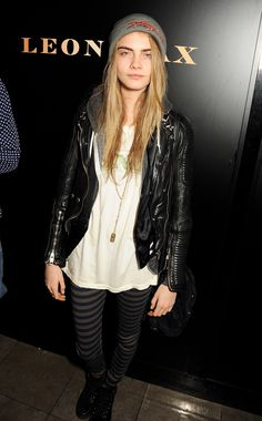 Cara Delevingne at the Leon Max London Store Opening after party