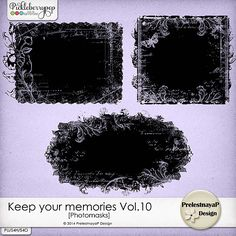 Keep your memories Photomasks Vol.10 by PrelestnayaP Design