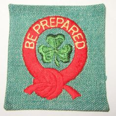 Vintage Intermediate Girl Scout 1st Class Badge circa late 1940's
