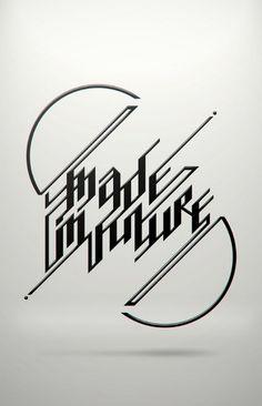 Постер с типографикой – модный тренд
