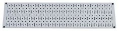 8in x 32in Horizontal Gray Metal Pegboard Tool Board Panel