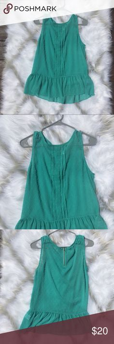 ✨Teal Elle Blouse Size Medium •excellent condition •looks great with professional attire Elle Tops Blouses