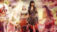 Xena: Warrior Princess WP by MotherofDragons.deviantart.com on @DeviantArt