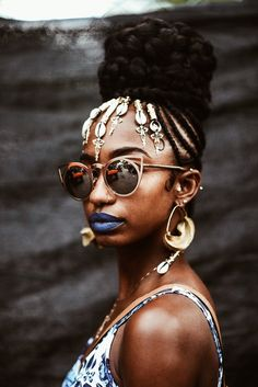 Ethnic Hairstyles, Braided Hairstyles, Cool Hairstyles, Natural Afro Hairstyles, Afro Punk Fashion, Curly Hair Styles, Natural Hair Styles, Afro Textured Hair, Black Girl Aesthetic