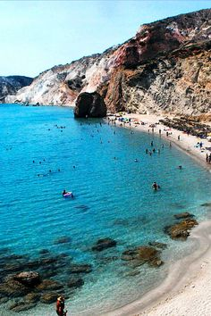 All about Milos island: http://greecetourism.gr/milos-island/ Fyriplaka Beach in Milos, Greece