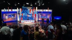 """""""The Daily Show"""" set will become a future display at the Newseum."""