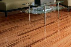 Savana Hardwood, Tigerwood Natural Hardwood Flooring by Mohawk Mohawk Hardwood Flooring, Carpet Flooring, Hardwood Floors, Tile Flooring, Flooring Ideas, Modern Stair Railing, Plastic Carpet Runner, Carpet Remnants, Hallway Carpet Runners