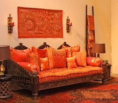 East Indian interiors Indian Home Decor on Mogul Interior Designs Indian Inspired Ethnic Ethnic Home Decor, Indian Home Decor, Indian Inspired Decor, Indian Decoration, Moroccan Decor, Indian Furniture, Home Furniture, Indian Interior Design, Pallet Home Decor