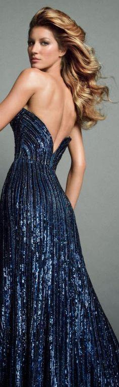 Gisele Bündchen in Elie Saab Couture by Inez and Vinoodh for Vogue Paris November 2013 jαɢlαdy
