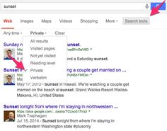 Google Search Tool To Filter Private Content