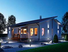 Casa prefabricada con profesionalidad | paquetes Jukka-casa: una forma más fácil de construir una