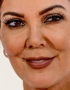 kris jenner more... kris jenner red carpet makeup celeb celebrity celebritycloseup