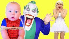 Joker bắt cóc con Người nhện và nữ hoàng băng giá - Anh hùng siêu nhân n...