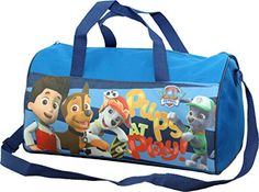 Paw Patrol Sports Holdall Shoulder Carry Bag By BestTrend... https://www.amazon.co.uk/dp/B01E75TLYO/ref=cm_sw_r_pi_dp_jgzrxb37ESDTB