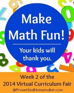 Make Math Fun: Your Kids Will Thank You  by http://ProverbialHomemaker.com /taunam/ #homeschool #math