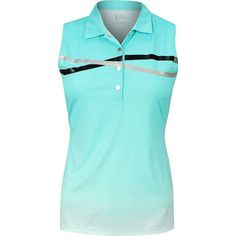 0ae4872ad73 EP Sport Womens Saturn S L Optical Wave Print Polo from  golfskipin