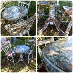 antique childs desk w folding seat blue shabby chic kids table chair set kids childrens desks vintage small desk furniture by rei