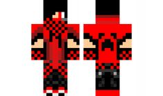 the-awesome-red-dj-guy Minecraft Skin