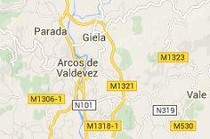 Map of arcos de valdevez
