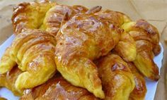 club -&nbspextranews Resources and Information. Greek Sweets, Greek Desserts, Greek Recipes, Croissants, Cooking Time, Cooking Recipes, The Kitchen Food Network, Pastry Cook, Breakfast Recipes