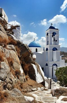 Greece Travel Inspiration - Ios Greece - As beautiful as Santorini and about the tourists! Beautiful Islands, Beautiful Places, Beautiful World, Mykonos, Santorini Greece, The Places Youll Go, Places To See, Places In Greece, Destinations