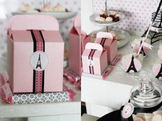 Party Theme Ideas, pink and green Paris theme?