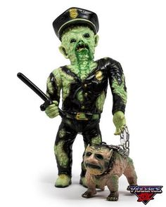 New Violence Toy Mutant Cop/ DK-9 One-Off Set Sofubi Rare Limited F/S #ViolenceToy
